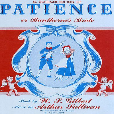 Patience, or Bunthorne's Bride