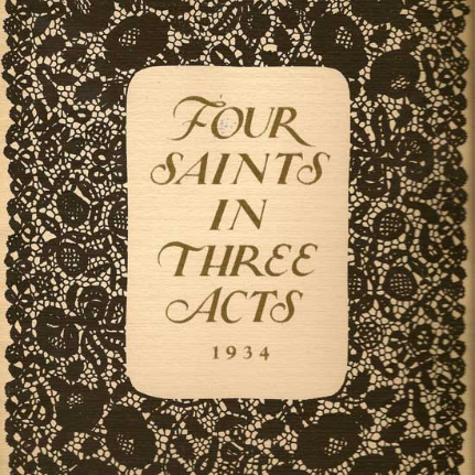 Four Saints in Three Acts